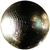 Shiny Disco Ball.